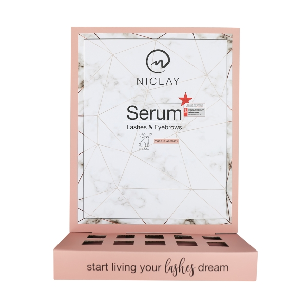 Eyebrow & Eyelash Serum Counter Display