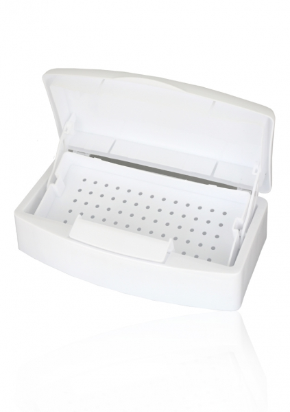 Desinfection box for tools | white | 1 unit