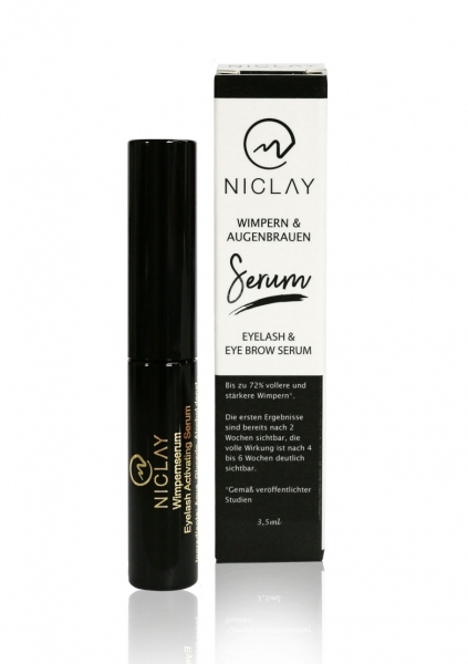 NICLAY | Eyelash & Eyebrow Activating Serum | 3.5ml | Block Pricing