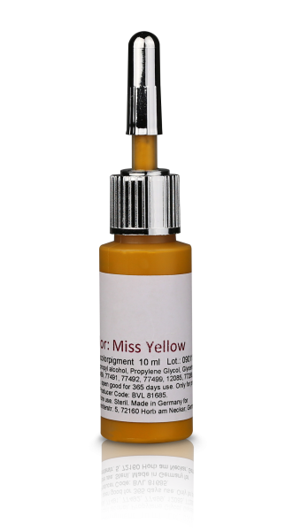 Microblading Support Colour | Miss Yellow | several sizes