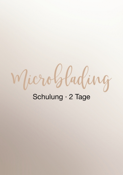 Microblading Schulung | 2 Tage