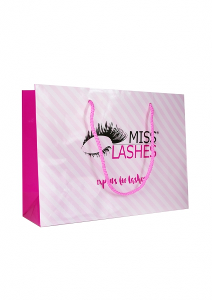 Miss Lashes Logotasche | Staffel