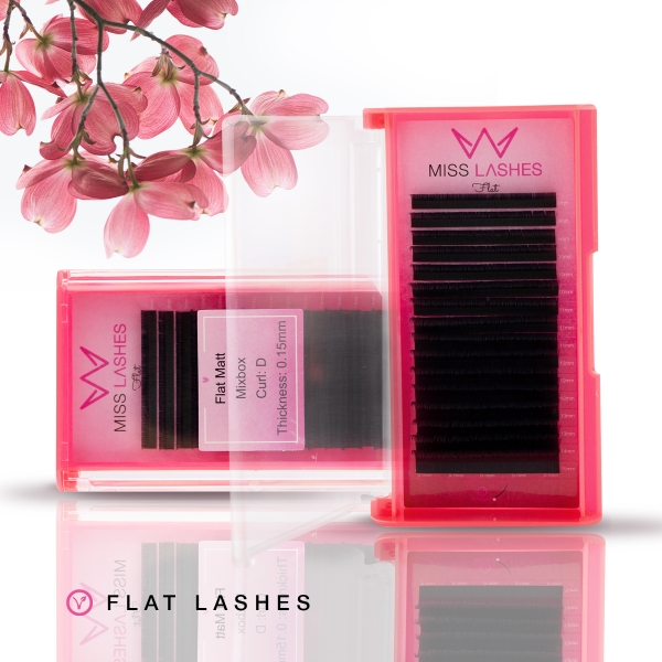 Outlet | Flat Lashes | 0.15 | LD+ Curl | SALE